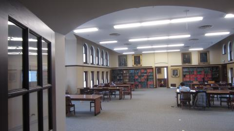 Image of study space in Quiet Study Room
