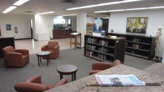 Image of Book Stop Leisure Reading Collection and soft seating