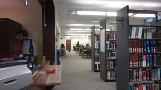 Image of short term loan area in Gerstein Library